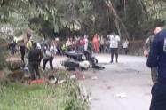 Otro ciclista falleció arrollado por una motocicleta en zona rural de Rovira