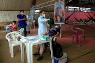 Realizan pruebas de coronavirus en Manaos