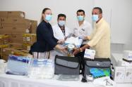 Donación del gobierno de Emiratos Árabes Unidos
