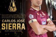 Nuevo jugador del Deportes Tolima