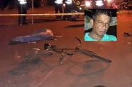 Falleció ciclista después de ser arrollado por una camioneta en El Espinal