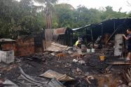 Afectados por incendios estructurales