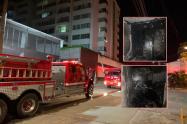 Se registró Incendio estructural en el edificio Portobello de Ibagué