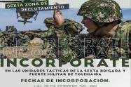 ¡Ojo! Desde hoy hasta el 28 de febrero puede definir su situación militar