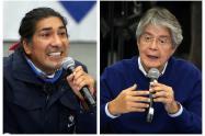 Yaku Pérez y Guillermo Lasso pelean por cupo en segunda vuelta de Ecuador