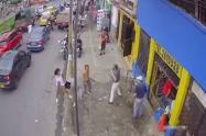 ¡Vuelve y juega! Atracaron a un adulto mayor con machete en el centro de Ibagué