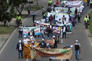 Protesta de profesores – Por clases presenciales protestan profesores