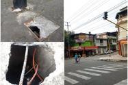 Robo de cables de semáforos en la comuna 10