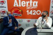 Secretario de Hacienda, Leopoldo Alfonso Ianini en La Cariñosa 2021