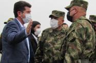 Cúpula Militar resaltó el trabajo de los Soldados de la Sexta Brigada del Ejército Nacional