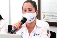 Sandra García Cobas, gerente del Ibal