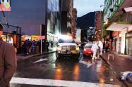 Tiroteo en centro de Bogotá