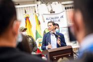 Alcalde de Ibagué, Andrés Fabián Hurtado 2021