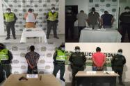 Capturaron 6 personas e incautaron cuatro armas de fuego en hechos aislados en el Tolima