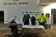 Sujeto fue capturado en mega-operativo después de atracar en una estación de servicio entre Ataco y Santiago Pérez