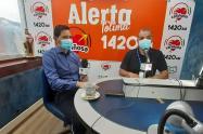 Andrés Fabián Hurtado, alcalde de Ibagué en La Cariñosa