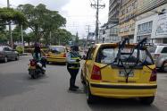 Imagen de taxi Ibagué 2021