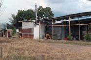 lote en aparco con vivienda ilegal