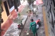 A machete amenazó mujer a una 'escobita' en la Ciudadela Simón Bolívar de Ibagué