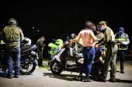 Inmovilizaron 18 vehículos entre carros y motos por 'piques ilegales' en Ibagué