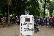 Jóvenes involucrados en hechos vandálicos en Neiva