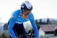 Miguel Ángel Supermán López, ciclista del Movistar team