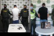 Sujetos fueron capturados al movilizarse armados en hechos aislados en Saldaña y Chicoral