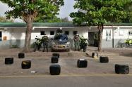 Cayó nueva 'narco – camioneta' con 112 kilos de marihuana en vías de Coyaima