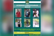 Autoridades lanzan cartel para judicializar a involucrados en actos vandálicos y otros delitos en Ibagué