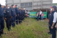 Más de 40 bomberos recibieron nueva dotación