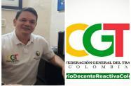 Jaime Cortés Presidente CGT Tolima
