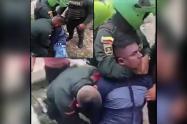 Exceso de fuerza en procedimiento policial en Florencia, Caquetá