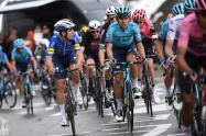 Harold Tejada en el Giro