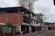 Niño se salvó de morir en medio de un incendio estructural en Villa Luces de Ibagué