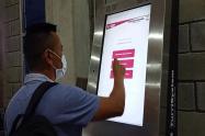 kiosco digital Secretaría de Movilidad de Ibagué