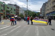 marcha estudiantes de la Universidad del Tolima mayo 10 de 2021