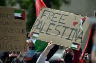 Marchas en Europa pro Palestina.