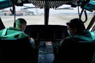 Pilotos de Guatemala son capacitados por la Fuerza Aérea Colombiana