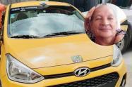 Taxistas lamentan el suicidio de su compañero en el barrio El Pedregal de Ibagué