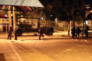Vandalismo cerca a la Universidad de Tolima mayo 2021