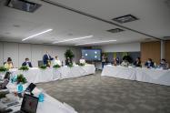 Presidente Iván Duque en encuentro con los alcaldes de la Asociación Colombiana de Ciudades Capitales (Asocapitales)
