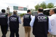 CIDH visita la frontera de Colombia con Venezuela