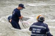 Investigan la muerte un hombre hallado en el río Combeima de Ibagué