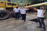 entrega de tubería acueductos comunitarios Ibagué