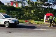 De una puñalada en el pecho asesinaron a venezolano en la Variante de Ibagué