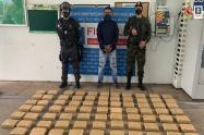 Descubren 200 kilogramos de marihuana encaletada en carga de plátano que se movilizaba por carreteras del Tolima