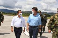 Consejo de seguridad con el Ministro de Defensa  permitió habilitar la movilidad en la ruta 45