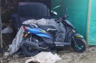 Recuperaron moto robada del barrio Arado en Ibagué