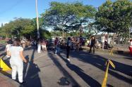 Sin cumplimiento de protocolos en la calle 60 con Quinta de Ibagué