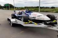 Carro de fórmula 3 en Ibagué